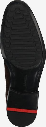 LLOYD Stiefel 'Patron' in dunkelbraun: Ansicht von unten