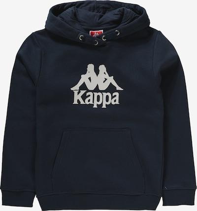 KAPPA Sweat 'Taino' en bleu foncé / blanc, Vue avec produit