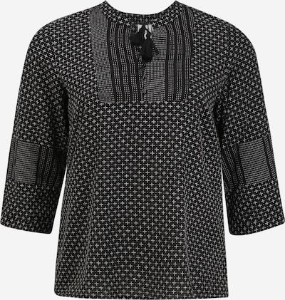 Bluză 'JELIS' Junarose pe negru, Vizualizare produs