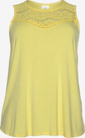 Zizzi Top in de kleur Geel, Productweergave