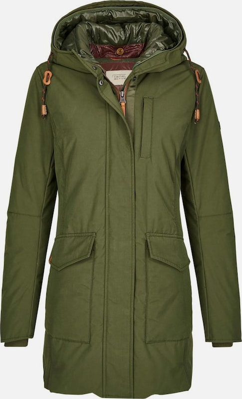CAMEL ACTIVE Parka in khaki: Frontalansicht
