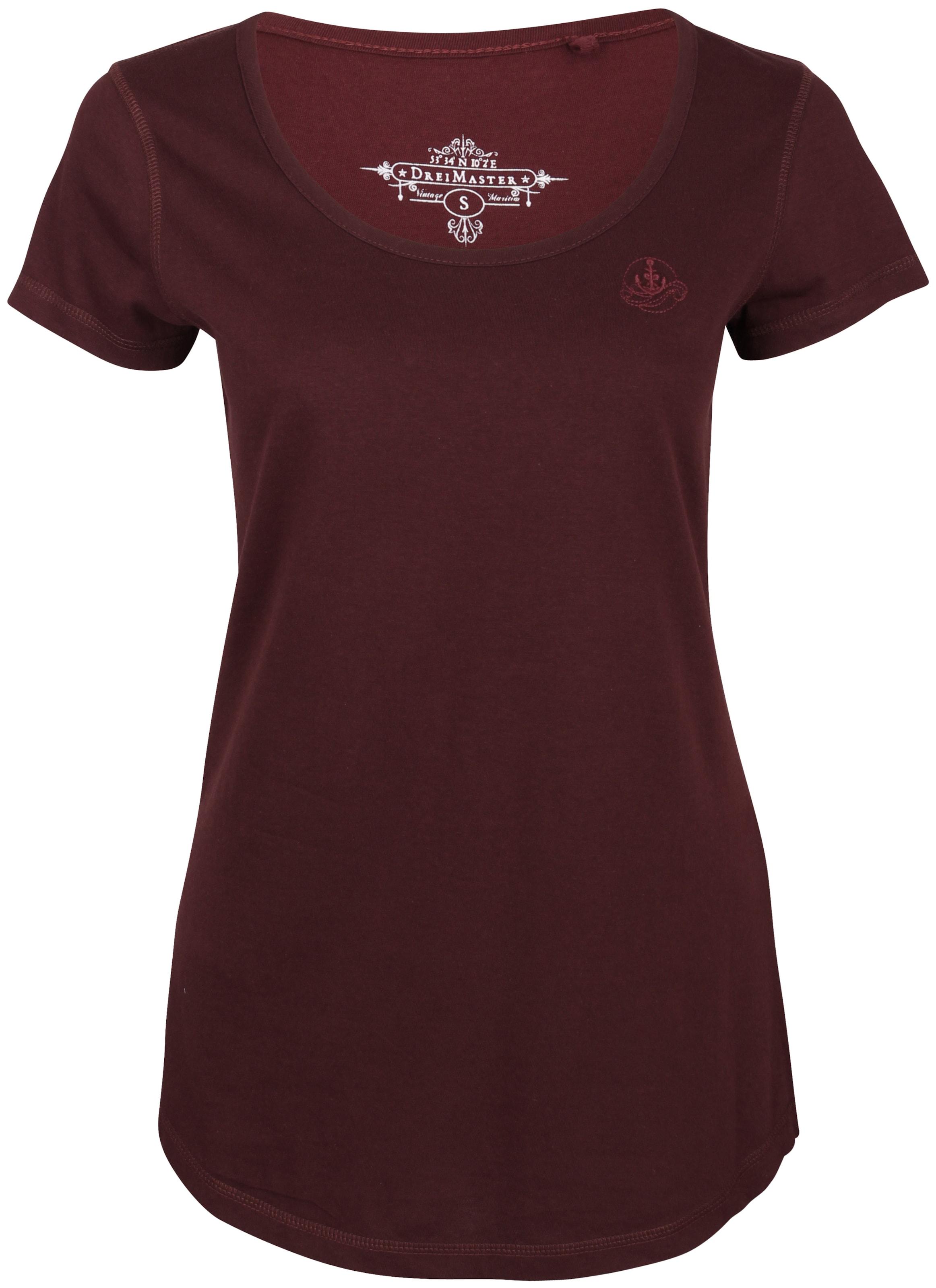 Rood Rood In Dreimaster Dreimaster Rood Shirt Dreimaster Shirt Shirt In In Dreimaster BodCex