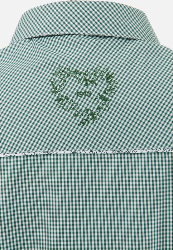 SPIETH & WENSKY Trachtenbluse mit Krempelärmeln