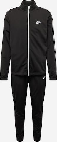 Nike Sportswear Jogginganzug in Schwarz