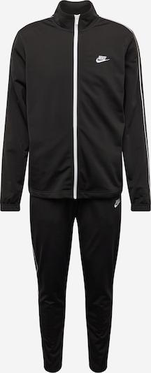 Nike Sportswear Survêtement en noir: Vue de face