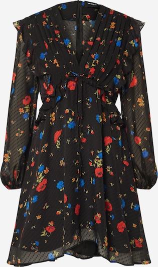 The Kooples Robe en mélange de couleurs / noir, Vue avec produit