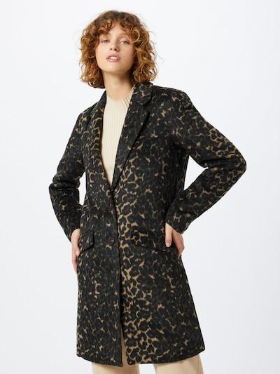 VILA Tussenmantel in de kleur Bruin / Zwart, Modelweergave