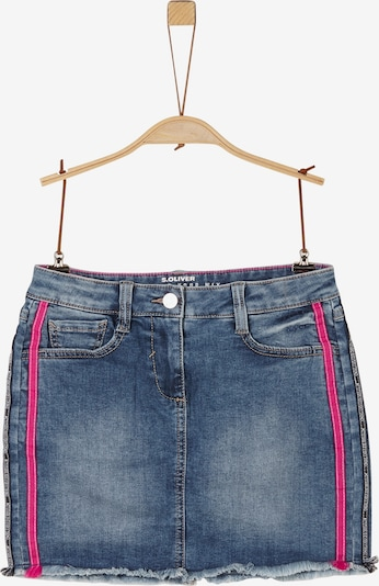 s.Oliver Rock in blue denim / pink, Produktansicht