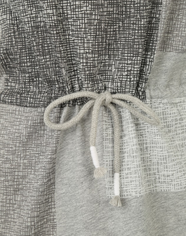 Iriedaily Jerseykleid mit geometrischem Print