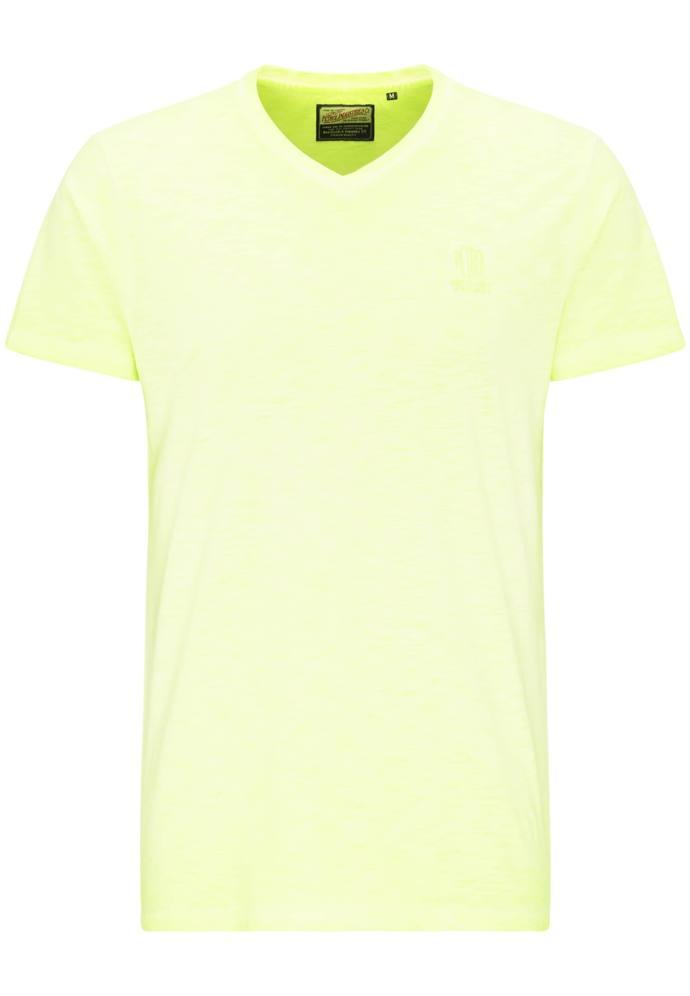 Industries T Jaune shirt En Petrol Fluo QCshrdtxB