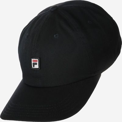 FILA Cap 'Dad Strap' in schwarz: Frontalansicht