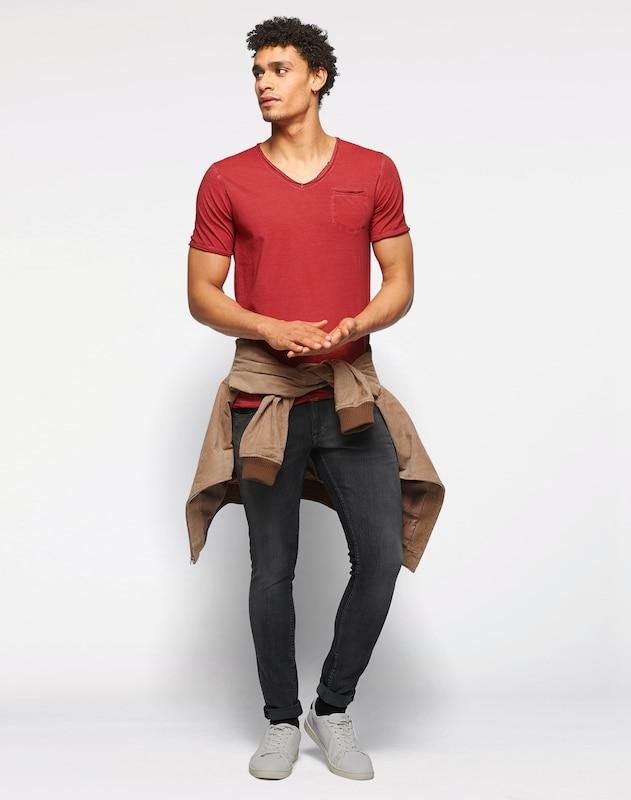 Cinque T-shirt Im Garment Dyed - Ciravi