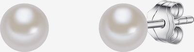 Valero Pearls Perlen-Ohrstecker mit Süßwasser-Zuchtperlen in silber, Produktansicht