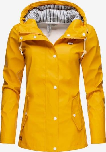 Ragwear Regenjacke 'Marge' in gelb, Produktansicht