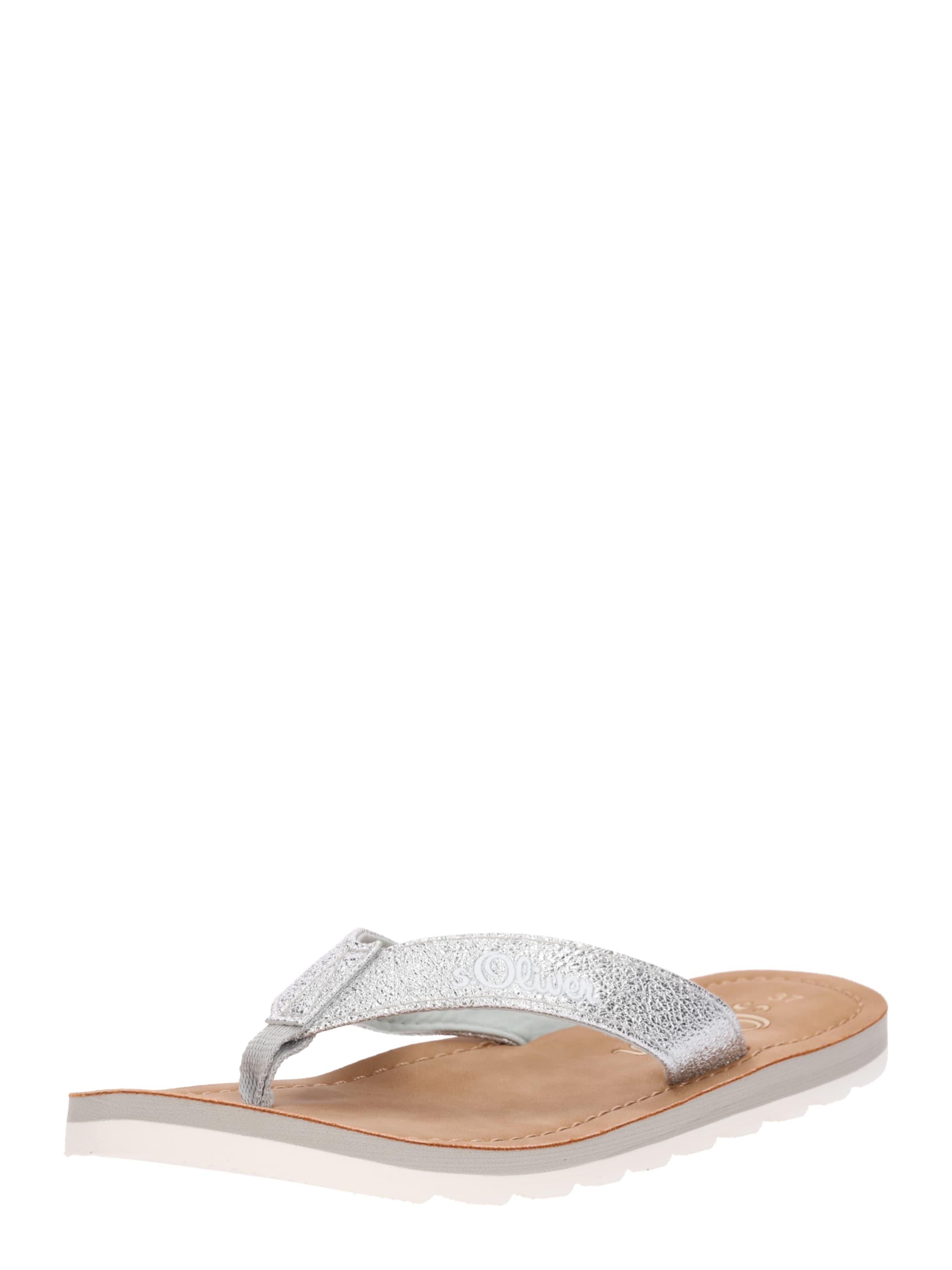 Haltbare Mode billige Schuhe s.Oliver RED LABEL | Zehentrennersandale Schuhe Gut getragene Schuhe
