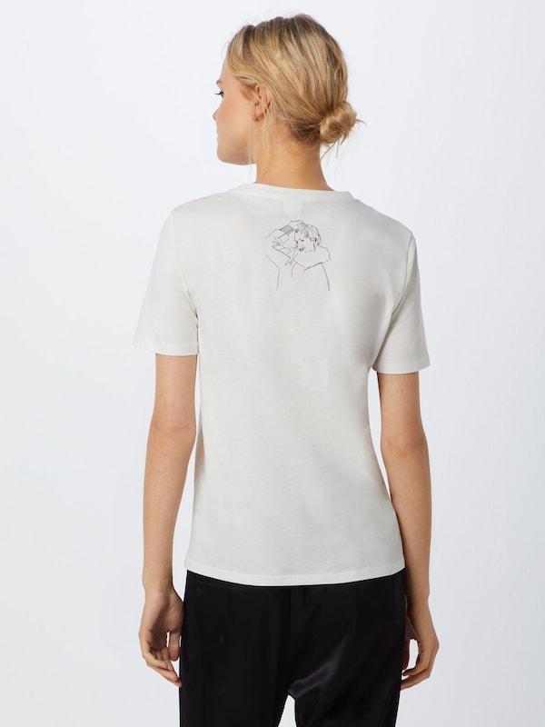 BOSS Shirt Shirt Shirt 'Tedrawing' in weiß  Neuer Aktionsrabatt 06f350