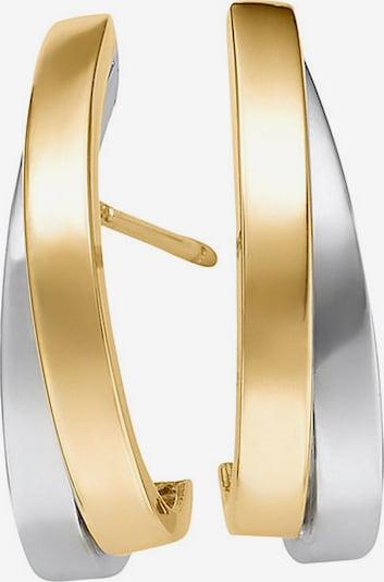 CHRIST Ohrstecker in gold / silber, Produktansicht