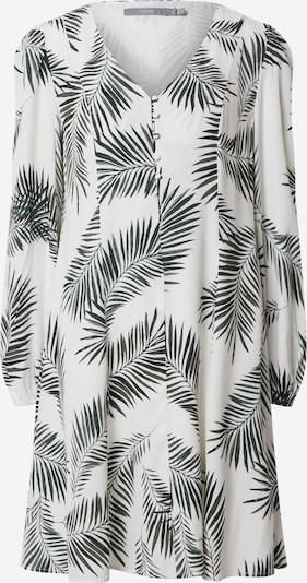 b.young Kleid 'BYFIA' in grün / weiß, Produktansicht