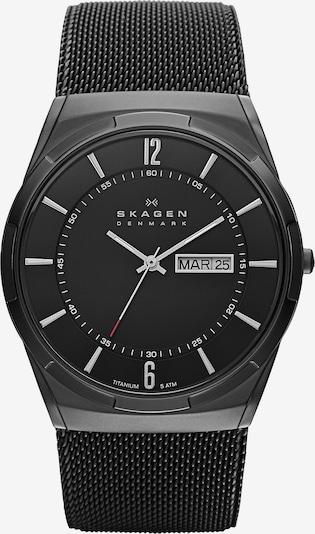 """SKAGEN Armbanduhr, """"MELBYE"""" in grau / anthrazit / schwarz, Produktansicht"""
