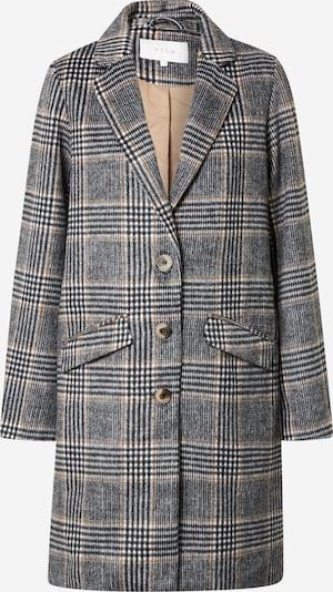 VILA Mantel in grau / offwhite, Produktansicht