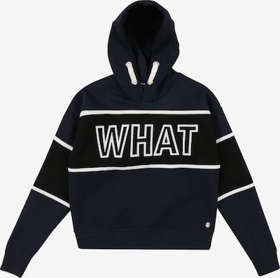STACCATO Sweatshirt in navy / weiß, Produktansicht