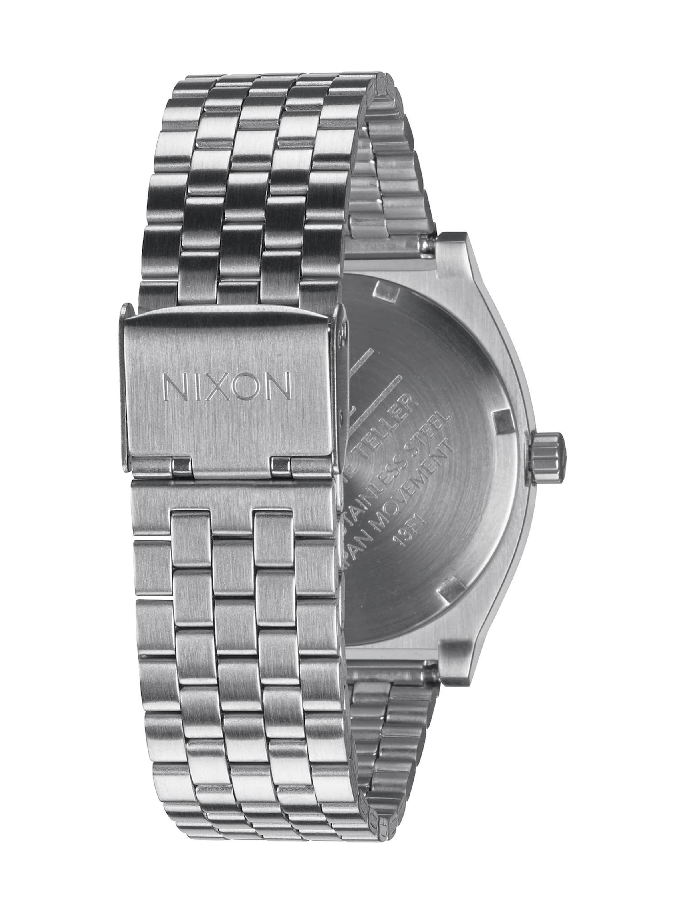 Teller' Armbanduhr Silber In 'time Nixon qUpVSMz