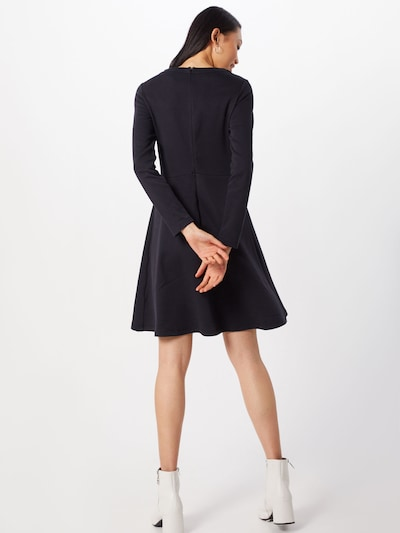 EDC BY ESPRIT Sukienka w kolorze czarnym: Widok od tyłu