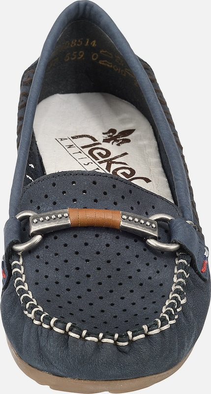 Haltbare Mode billige Schuhe RIEKER | Mokassin Schuhe Gut getragene getragene getragene Schuhe e80154