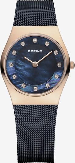 BERING Uhr in dunkelblau / gold, Produktansicht