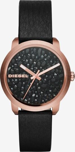 DIESEL Quarzuhr 'FLARE' in rosegold / schwarz, Produktansicht