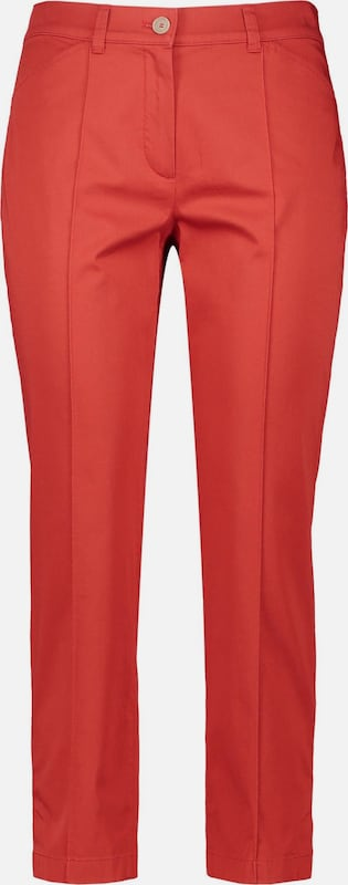 GERRY WEBER Hose in rot: Frontalansicht