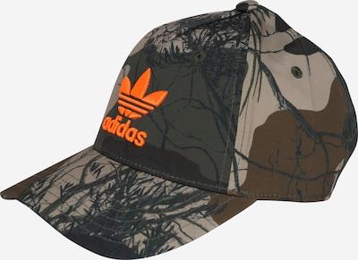 ADIDAS ORIGINALS Cap in beige / braun / khaki / orange, Produktansicht