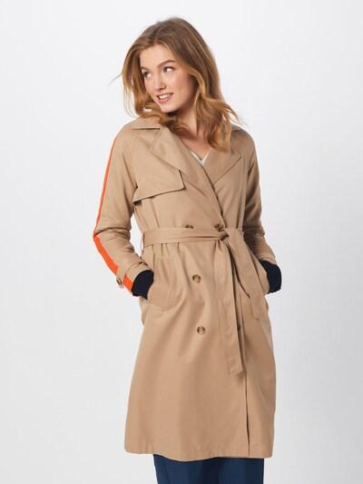ONLY Trenchcoat 'ISABELLA' in camel / orange, Modelansicht