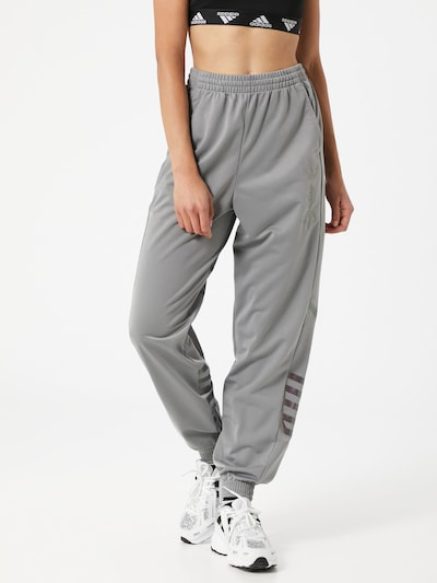 Pantaloni ADIDAS ORIGINALS pe gri amestecat / negru, Vizualizare model