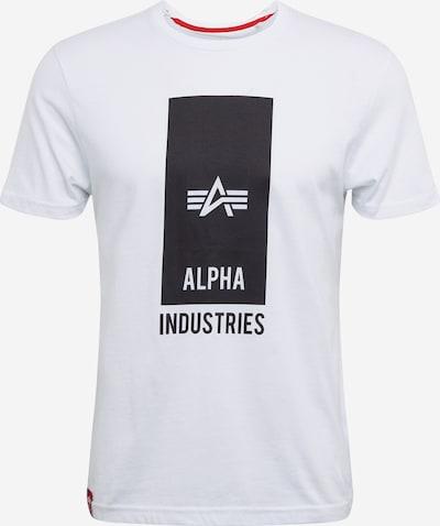 ALPHA INDUSTRIES Koszulka w kolorze białym, Podgląd produktu