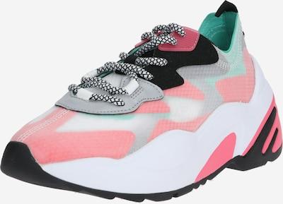 STEVE MADDEN Sneaker 'Charged' in grau / mint / rot, Produktansicht