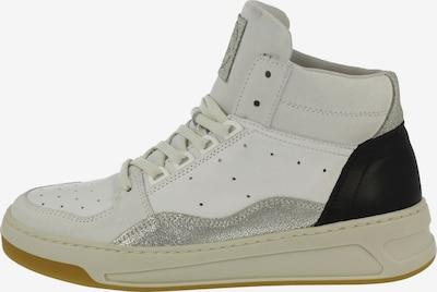 BULLBOXER Sneaker in schwarz / silber / naturweiß, Produktansicht