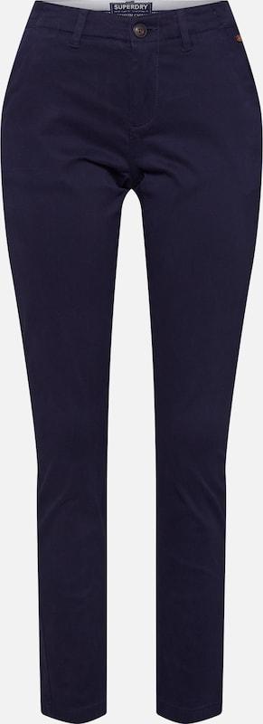 Pant' Marine En Superdry Bleu Pantalon 'city Chino 7gvYbf6y