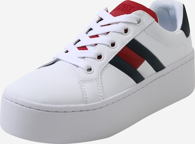 Tommy Jeans Nízke tenisky 'ROXIE 4A' - tmavomodrá / červené / biela, Produkt