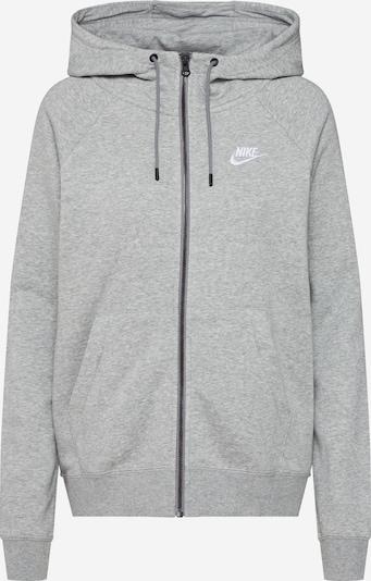 Nike Sportswear Sweatjacke 'Essntl' in graumeliert, Produktansicht
