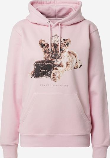 EINSTEIN & NEWTON Sweatshirt in de kleur Beige / Bruin / Rosa, Productweergave