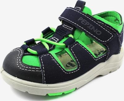 Pepino Sandalen in kobaltblau / limette, Produktansicht