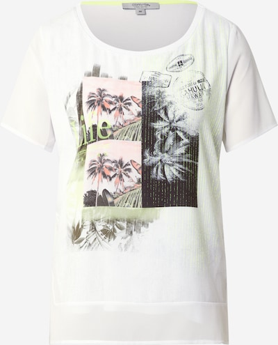 Tricou Ci comma casual identity pe culori mixte / alb, Vizualizare produs