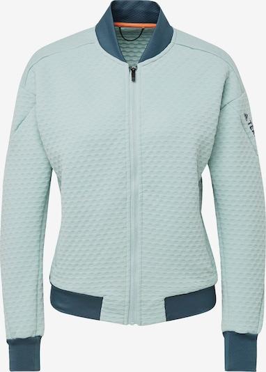 ADIDAS PERFORMANCE Functionele fleece jas in de kleur Mintgroen, Productweergave