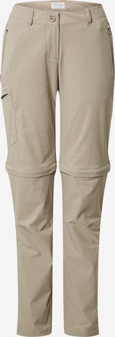 CRAGHOPPERS Sporthose in Beige