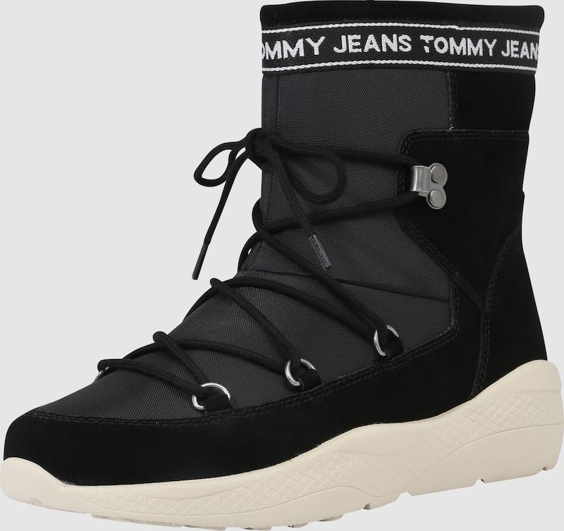 Tommy Jeans SnowStiefel SnowStiefel SnowStiefel mit Label-Applikation 92f266