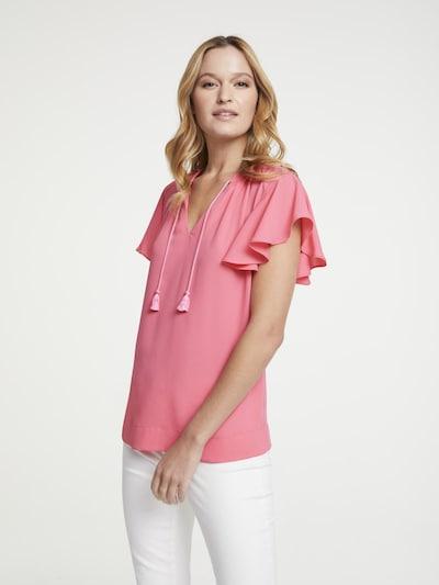 heine Blusenshirt in pink, Modelansicht