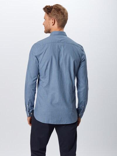 Dalykinio stiliaus marškiniai 'Level 5' iš OLYMP , spalva - tamsiai mėlyna jūros spalva: Vaizdas iš galinės pusės