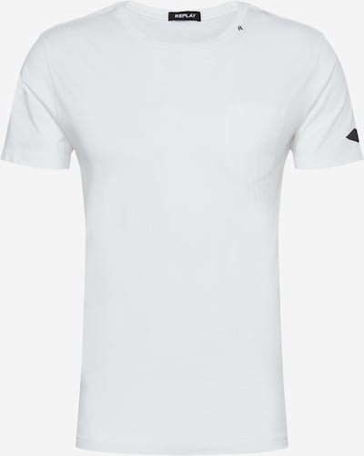 REPLAY T-Shirt in weiß, Produktansicht