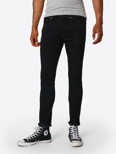LEVI'S Jeans '519™' in black denim, Modelansicht